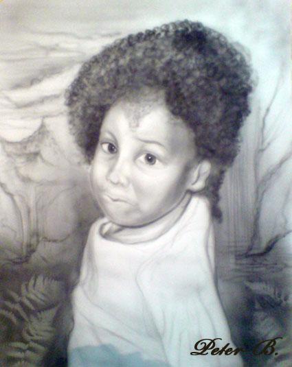 Portrait recent artispit - Encadrement portrait noir et blanc ...